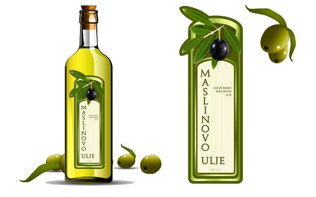 Etiketa za ulje 7