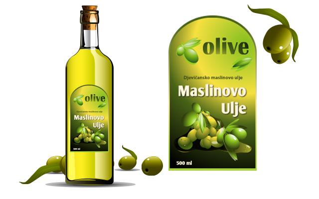 Etiketa za ulje 8