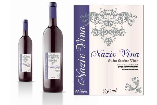 Etiketa za vino 1