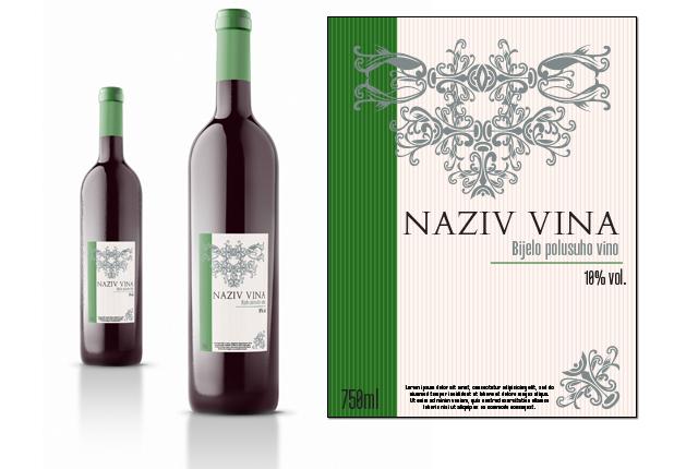 Etiketa za vino 2