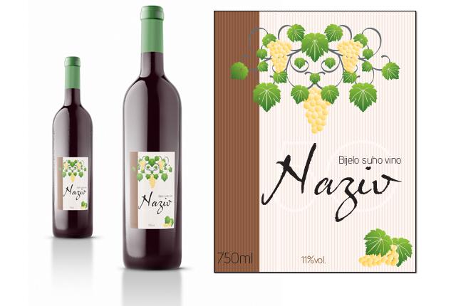 Etiketa za vino 3