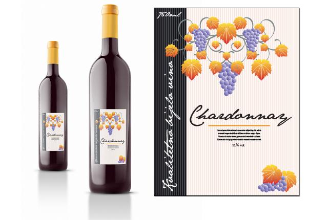 Etiketa za vino 5