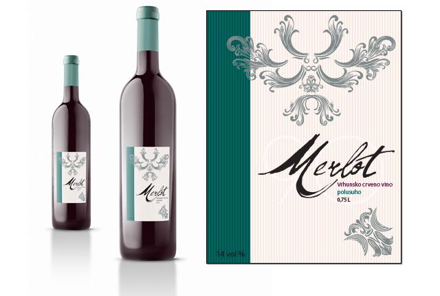Etiketa za vino 6