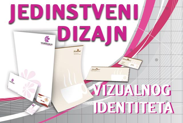 Vizualni identitet-Jedinstveni dizajn