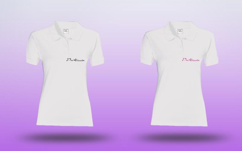 Majica Polo Ženska-Bijela