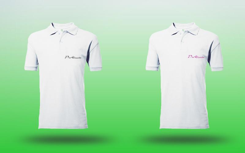 Majica Poly Dječja-Bijela