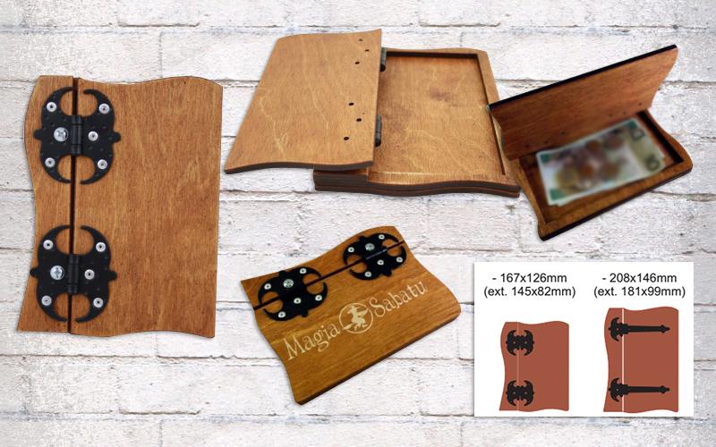 Drvena kutijica -Etui