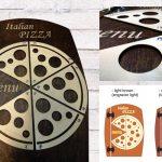 drveni jelovnici za pizzerije